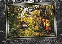 All in a framework - sun in the forest / UK-Version (Wall Calendar 2019 DIN A3 Landscape) - Produktdetailbild 6