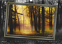 All in a framework - sun in the forest / UK-Version (Wall Calendar 2019 DIN A3 Landscape) - Produktdetailbild 3