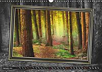 All in a framework - sun in the forest / UK-Version (Wall Calendar 2019 DIN A3 Landscape) - Produktdetailbild 1