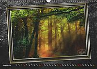 All in a framework - sun in the forest / UK-Version (Wall Calendar 2019 DIN A3 Landscape) - Produktdetailbild 8