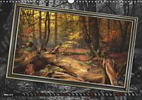 All in a framework - sun in the forest / UK-Version (Wall Calendar 2019 DIN A3 Landscape) - Produktdetailbild 5