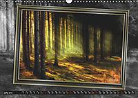 All in a framework - sun in the forest / UK-Version (Wall Calendar 2019 DIN A3 Landscape) - Produktdetailbild 7