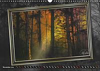 All in a framework - sun in the forest / UK-Version (Wall Calendar 2019 DIN A3 Landscape) - Produktdetailbild 11