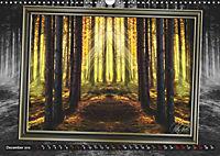 All in a framework - sun in the forest / UK-Version (Wall Calendar 2019 DIN A3 Landscape) - Produktdetailbild 12