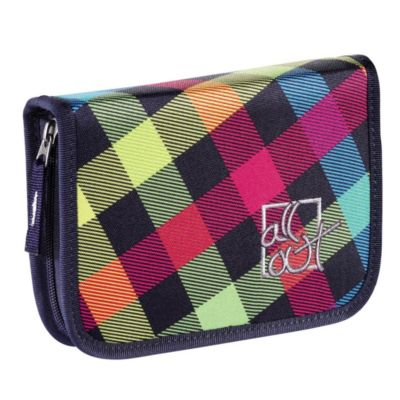 All Out Federmäppchen Plymouth, Rainbow Check