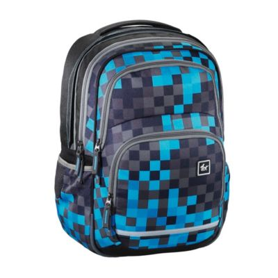 All Out Rucksack Blaby, Blue Pixel