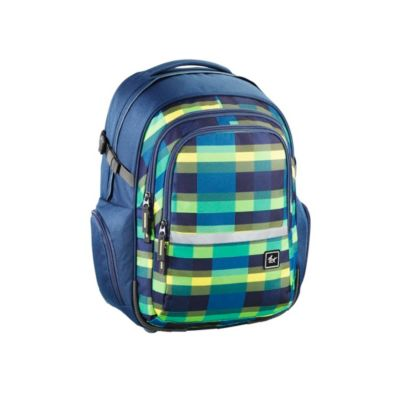 All Out Rucksack Filby, Summer Check Green