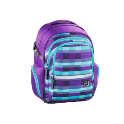 All Out Rucksack Filby, Summer Check Purple