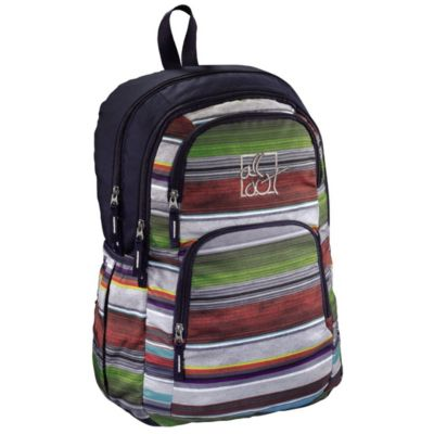 All Out Rucksack Kilkenny, Waterfall Stripes