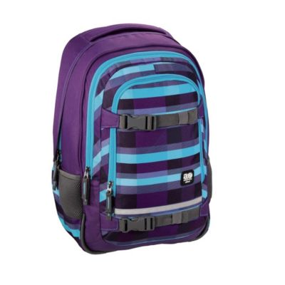 All Out Rucksack Selby, Summer Check Purple