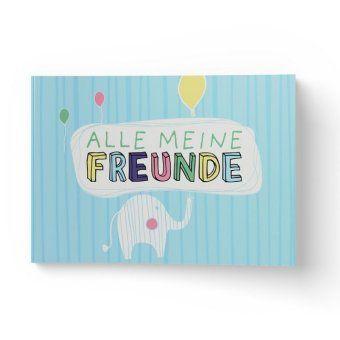 Alle meine Freunde Hochwertiges Freundebuch für Mädchen und Jungen zum Ausfüllen und Ausmalen im DIN A5-Format, Lisa Wirth