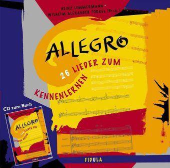 Allegro, 1 Audio-CD, Heinz Lemmermann, Wilhelm A Torkel