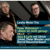 Allein ist nicht genug, Audio-CD, Peter Rühmkorf