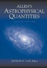 Allen's Astrophysical Quantities, w. CD-ROM