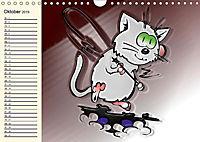 Alles für die Katz! Lustiger Katzen-Planer (Wandkalender 2019 DIN A4 quer) - Produktdetailbild 10