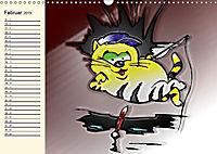Alles für die Katz! Lustiger Katzen-Planer (Wandkalender 2019 DIN A3 quer) - Produktdetailbild 2