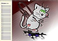 Alles für die Katz! Lustiger Katzen-Planer (Wandkalender 2019 DIN A3 quer) - Produktdetailbild 10