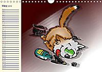 Alles für die Katz! Lustiger Katzen-Planer (Wandkalender 2019 DIN A4 quer) - Produktdetailbild 3
