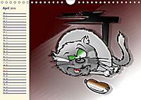 Alles für die Katz! Lustiger Katzen-Planer (Wandkalender 2019 DIN A4 quer) - Produktdetailbild 4