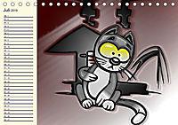 Alles für die Katz! Lustiger Katzen-Planer (Tischkalender 2019 DIN A5 quer) - Produktdetailbild 7