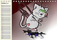 Alles für die Katz! Lustiger Katzen-Planer (Tischkalender 2019 DIN A5 quer) - Produktdetailbild 10