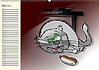 Alles für die Katz! Lustiger Katzen-Planer (Wandkalender 2019 DIN A2 quer) - Produktdetailbild 4
