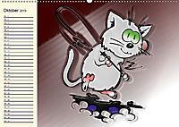 Alles für die Katz! Lustiger Katzen-Planer (Wandkalender 2019 DIN A2 quer) - Produktdetailbild 10