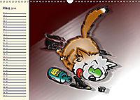 Alles für die Katz! Lustiger Katzen-Planer (Wandkalender 2019 DIN A3 quer) - Produktdetailbild 3