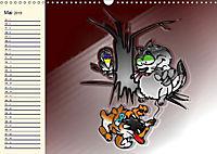 Alles für die Katz! Lustiger Katzen-Planer (Wandkalender 2019 DIN A3 quer) - Produktdetailbild 5