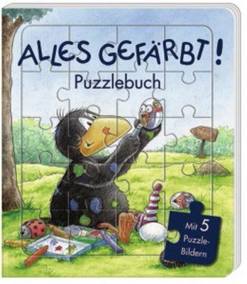Alles gefärbt! Puzzlebuch, Nele Moost, Annet Rudolph