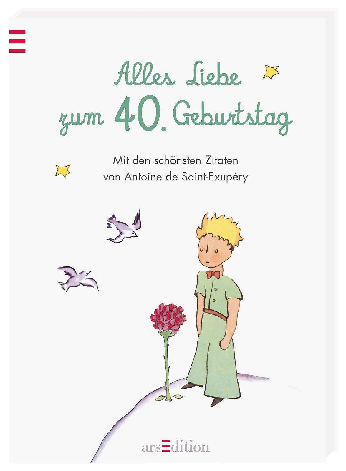 Alles Liebe Zum 40 Geburtstag Buch Bei Weltbild Ch Bestellen