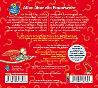 Alles über die Feuerwehr, Audio-CD - Produktdetailbild 1