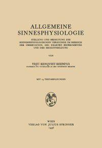 Allgemeine Sinnesphysiologie, Vrjo Renqvist-Reenpaa