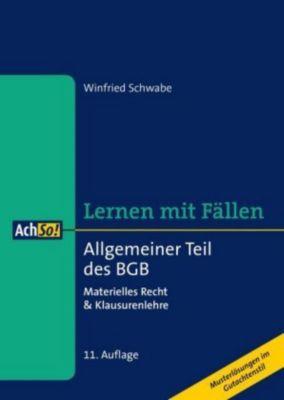 Allgemeiner Teil des BGB, Winfried Schwabe