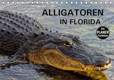 ALLIGATOREN IN FLORIDA (Tischkalender 2019 DIN A5 quer), Dieter-M. Wilczek
