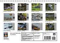 ALLIGATOREN IN FLORIDA (Wandkalender 2019 DIN A4 quer) - Produktdetailbild 13