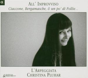 All'Improviso-Ciaccone,Bergamasche & Un Po Di Fol, Pluhar, Trovesi, Beasley, Galeazzi, Arpeggiata