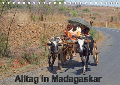 Alltag in Madagaskar (Tischkalender 2019 DIN A5 quer), Willy Brüchle