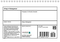 Alltag in Madagaskar (Tischkalender 2019 DIN A5 quer) - Produktdetailbild 13