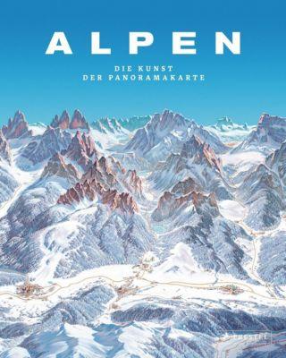 Alpen. Die Kunst der Panoramakarte - Tom Dauer |