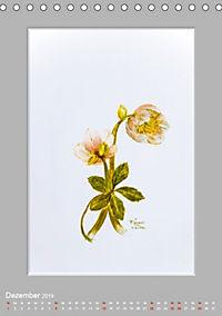 Alpenblumen Aquarelle aus Tirol (Tischkalender 2019 DIN A5 hoch) - Produktdetailbild 12