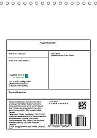 Alpenblumen Aquarelle aus Tirol (Tischkalender 2019 DIN A5 hoch) - Produktdetailbild 13