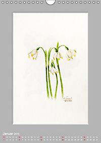 Alpenblumen Aquarelle aus Tirol (Wandkalender 2019 DIN A4 hoch) - Produktdetailbild 1