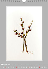 Alpenblumen Aquarelle aus Tirol (Wandkalender 2019 DIN A4 hoch) - Produktdetailbild 2