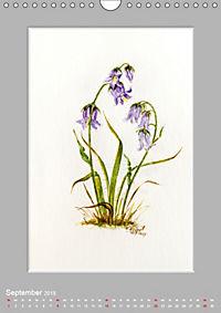 Alpenblumen Aquarelle aus Tirol (Wandkalender 2019 DIN A4 hoch) - Produktdetailbild 9