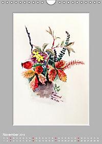 Alpenblumen Aquarelle aus Tirol (Wandkalender 2019 DIN A4 hoch) - Produktdetailbild 11