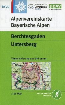 Alpenvereinskarte Berchtesgaden, Untersberg
