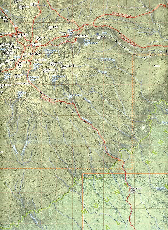 Mount Kenia Karte.Alpenvereinskarte Mount Kenya Nationalpark Buch Portofrei