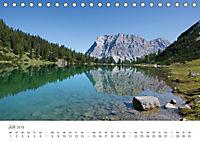 Alpine Seelandschaften (Tischkalender 2019 DIN A5 quer) - Produktdetailbild 3