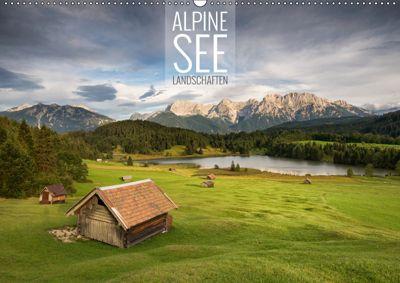 Alpine Seelandschaften (Wandkalender 2019 DIN A2 quer), Christian Bremser